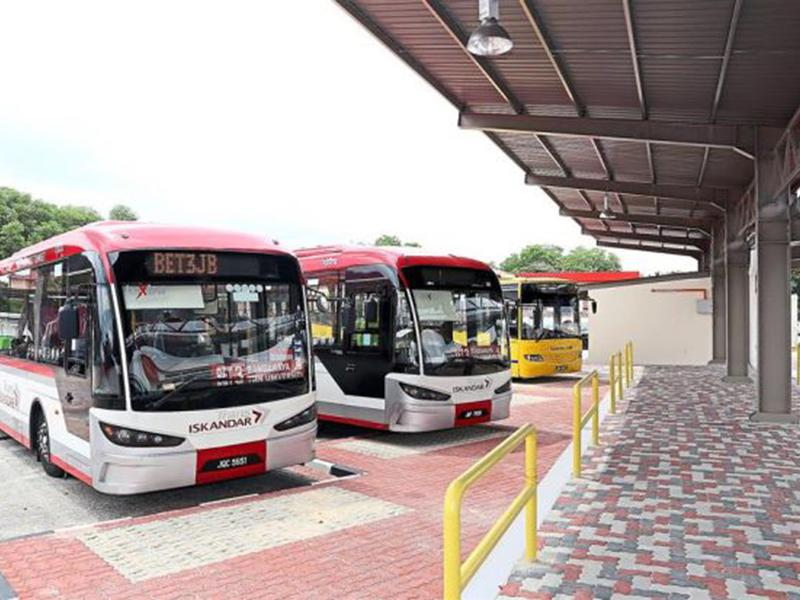 Skudai Bus Station