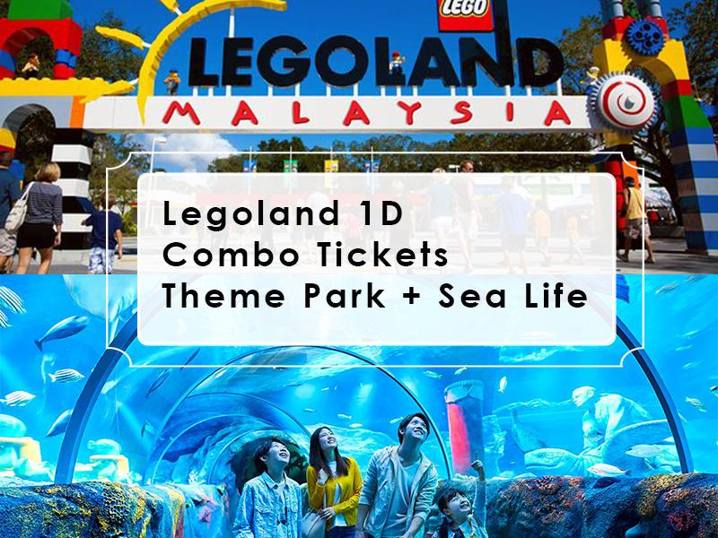 Legoland 1D Combo Tickets Theme Park + Sea Life