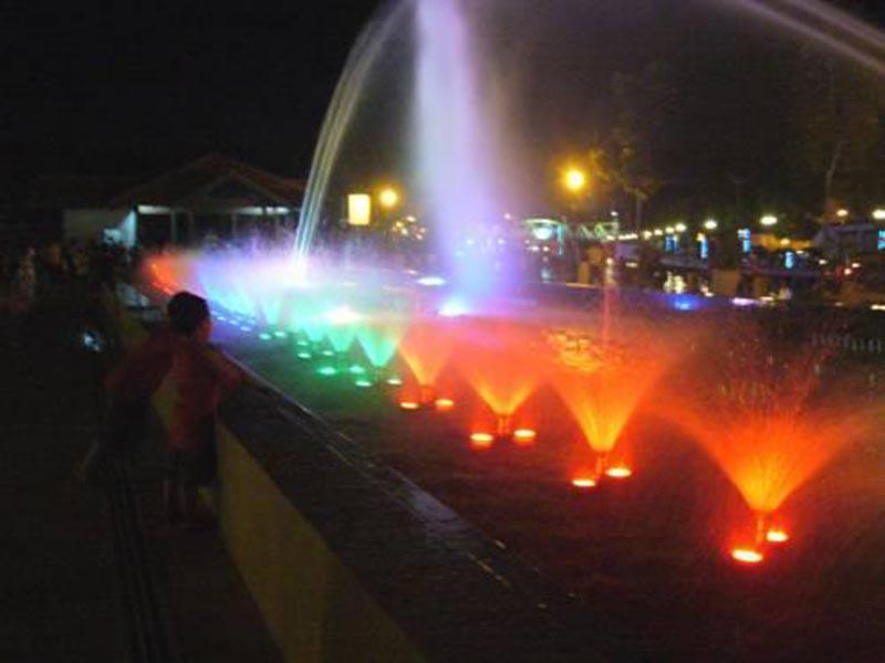 Musical Fountain at Dataran Munshi Abdullah